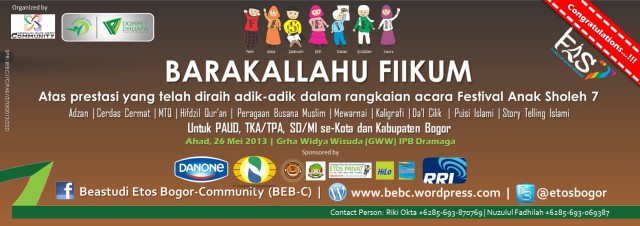 Hasil Kejuaraan   Beastudi Etos Bogor Community